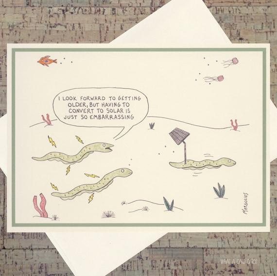 Funny Birthday Card Getting Older Humorous
