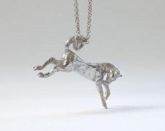 bucking horse pendant
