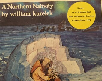 A Northern Nativity  William Kurelek A Kirkus Choice 1976 Christmas in Art