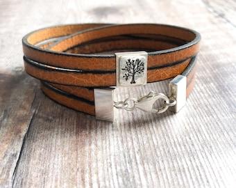 Was 12.99 Now 7.49  Charm Faux Leather Bracelets SALE!