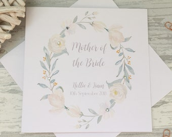 Mother Of The Bride Card Etsy