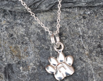 Dog Paw Pendant, Cat Paw Pendant, Personalised, Dog Lovers, Cat Lovers