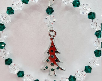 Crystal Christmas Tree Decoration