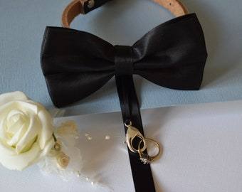 Ring Bearer Bow Tie & Collar for weddings and proposals