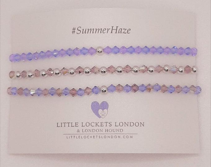 Swarovski Crystal Bracelets - SummerHaze