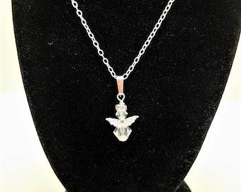 Angel Pendant, sterling silver