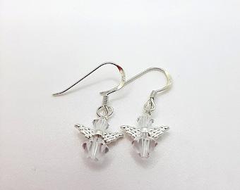 Christmas Earrings, Christmas Angel