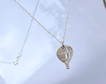 Sterling Silver Balloon Pendant, Personalise