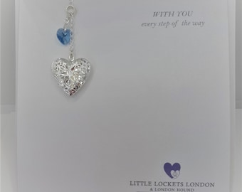 Wedding Bouquet Memorial Charm, something blue