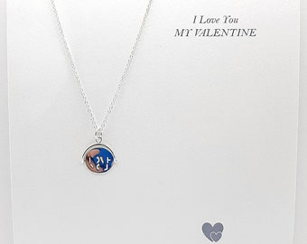 I Love You Spinning Pendant, Send Direct