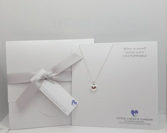 Little Heart Sterling Silver Pendant