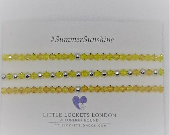 Swarovski Crystal Bracelets - Summer Sunshine