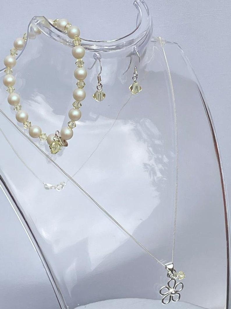 Colour Choice Wedding Jewellery Set Bridesmaids Gift