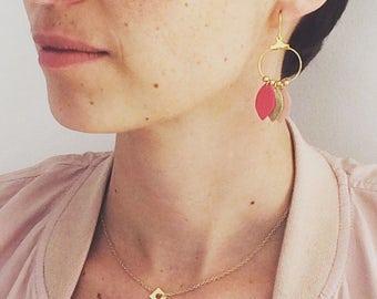 Earrings Flowers (gold)