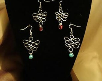 Rib-cage earrings