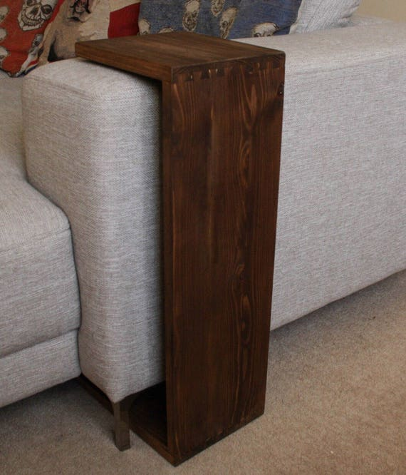 Sofa Table Sofa Tray Sofa Arm Table End Table Side | Etsy