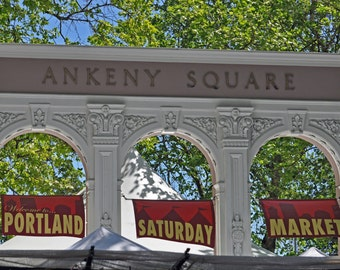 Portland Saturday Market--Ankeny Square