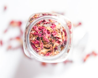 Rose & Vanilla Bath Salts | Aromatherapy | Essential oils | Ecoderma | Spa Gift for her | Gift for her | Soothing Bath Soak | Handmade gift