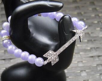Assorted Glass Bead Bracelet w/ Connectors