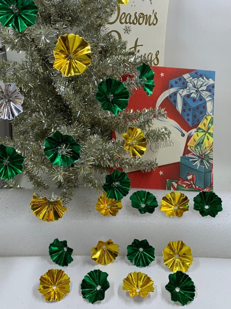 Vintage christmas light reflectors for sale español