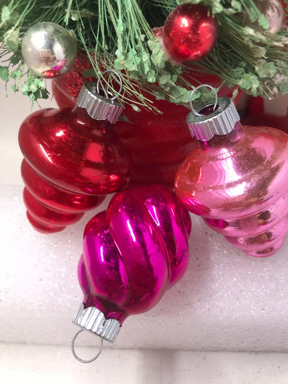 image 0 - Vintage Shiny Brite Christmas Ornaments