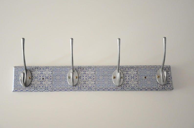 Piastrelle marocchine appendiabiti da parete design cappotto etsy