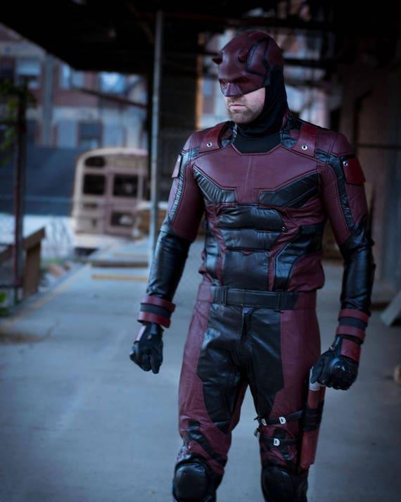 & Daredevil Netflix Season 2 Helmet Urethane rubber costume cowl