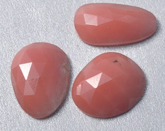 New! Natural Andesine Polki Rosecut Freeform Cabochon Gemstones