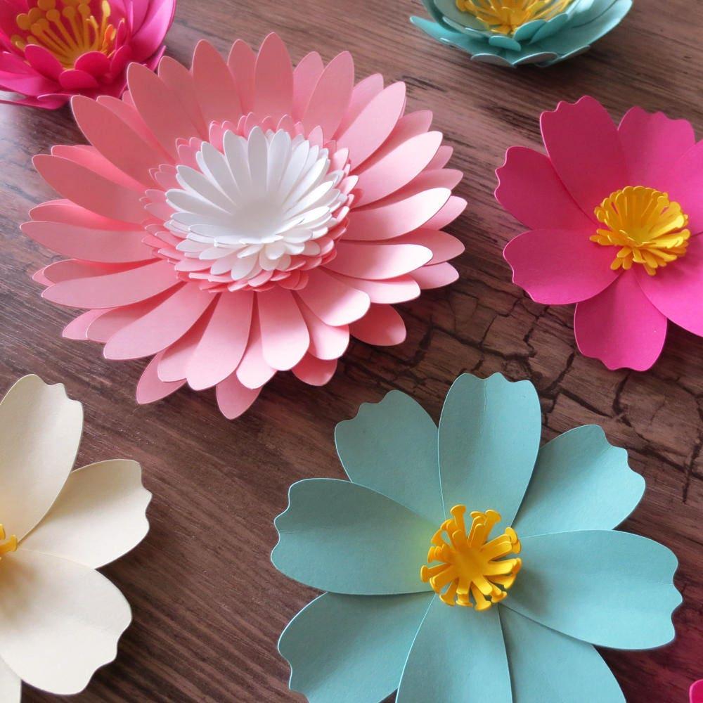 Exelent Paper Flower Centerpiece Ideas Gallery Top Wedding Gowns