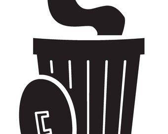Furry Trash Vinyl Decal