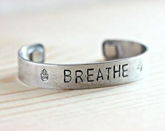 Breathe Bracelet, Rare Earth Magnet Bracelet, Neodymium Magnets, Aluminum Jewelry, Copper Jewlery, Copper Bracelet