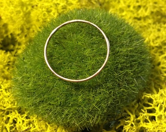 Dainty Gold Stacking Ring