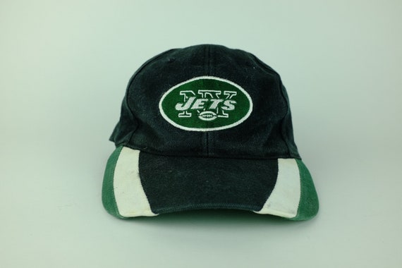 8fad89b972a Vintage 90s New York JETS NFL Football Snap Back Hat NY Jets