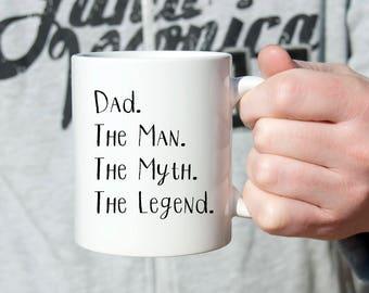 Dad Gift, Custom Dad Gift, New Day Gift, Dad Mug, Funny Dad Gift, Gift for Dad, Husband Gift, New Dad, Funny Mug, Birthday Gift,Father's Day