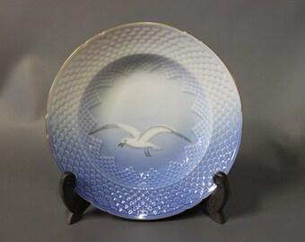 Sea Gull deep lunch plate, porcelain by B&G.