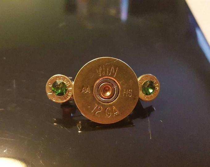 Shotgun shell hair clips