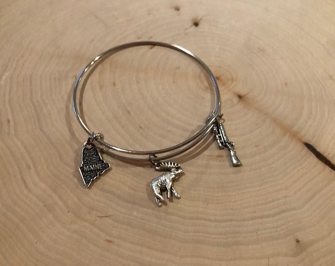 Maine Moose hunt bracelet