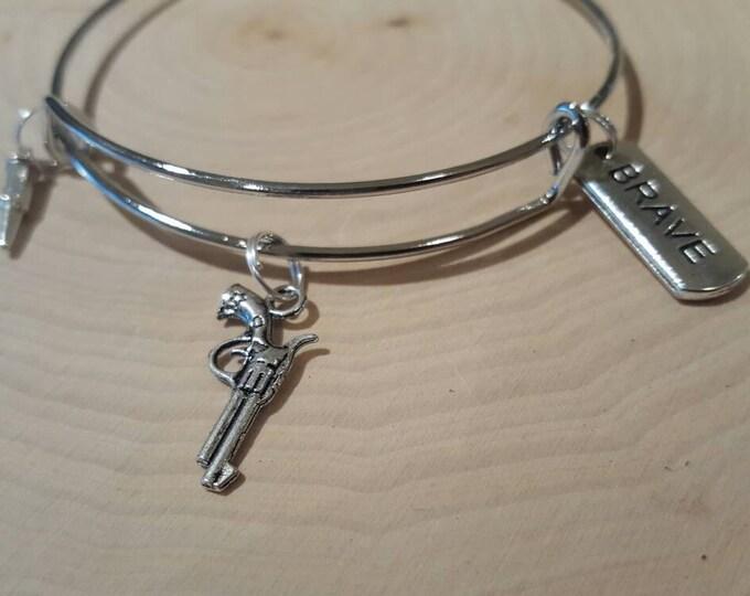 Gun Bangle Bracelet