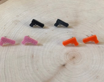 gun studs, 3 colors too choose from stainless steel posts