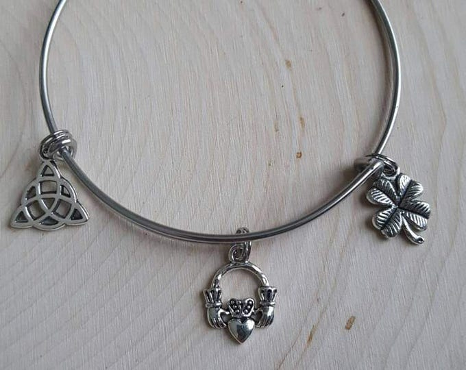 Irish bangle bracelet