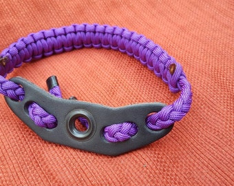 solid purple wrist sling