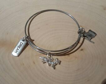 Fox bangle bracelet