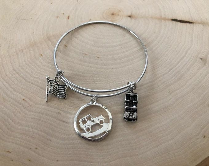 Jeep bangle bracelet