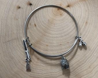 Turkey hunting bangle bracelet