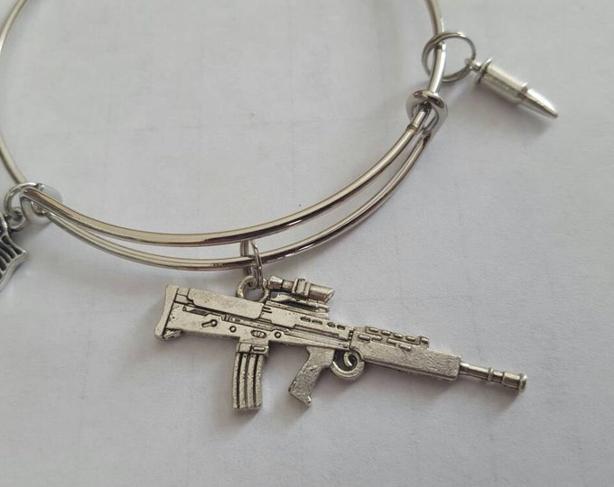 rifle bangle bracelet