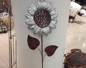 Metal Sunflower-  Large