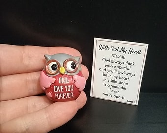 Pocket Token - Owl Love You Forever