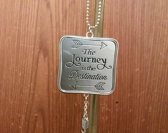Car charm- The Journey is The Destination