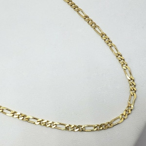 Real Pearl and Real Diamond 14K Plumb 2.35 dwt Gold Necklace  vintage 90s 11.25 MB Inc 4.6 Grams 2.25 mm