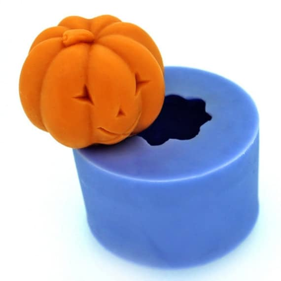Halloween Silicone Molds | Halloween Pumpkin Candle Mold Rose Soap Mold Silicone Mold Etsy